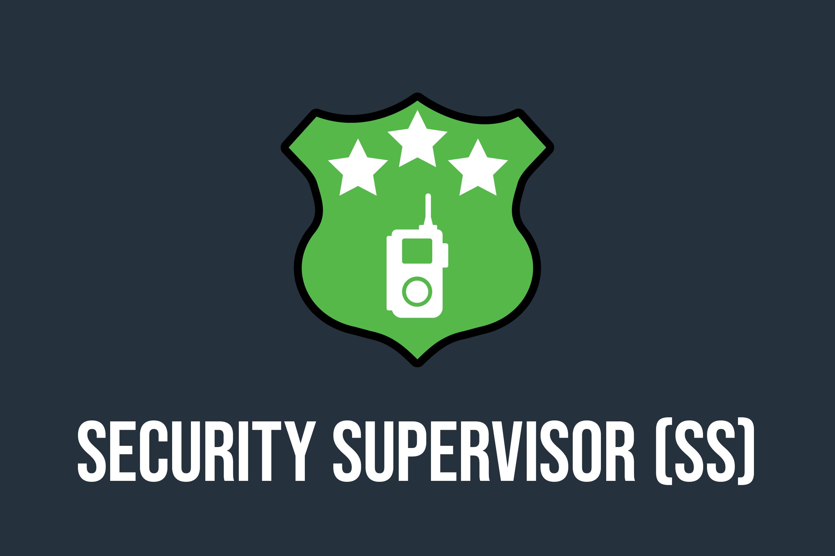 Security Supervisor Course