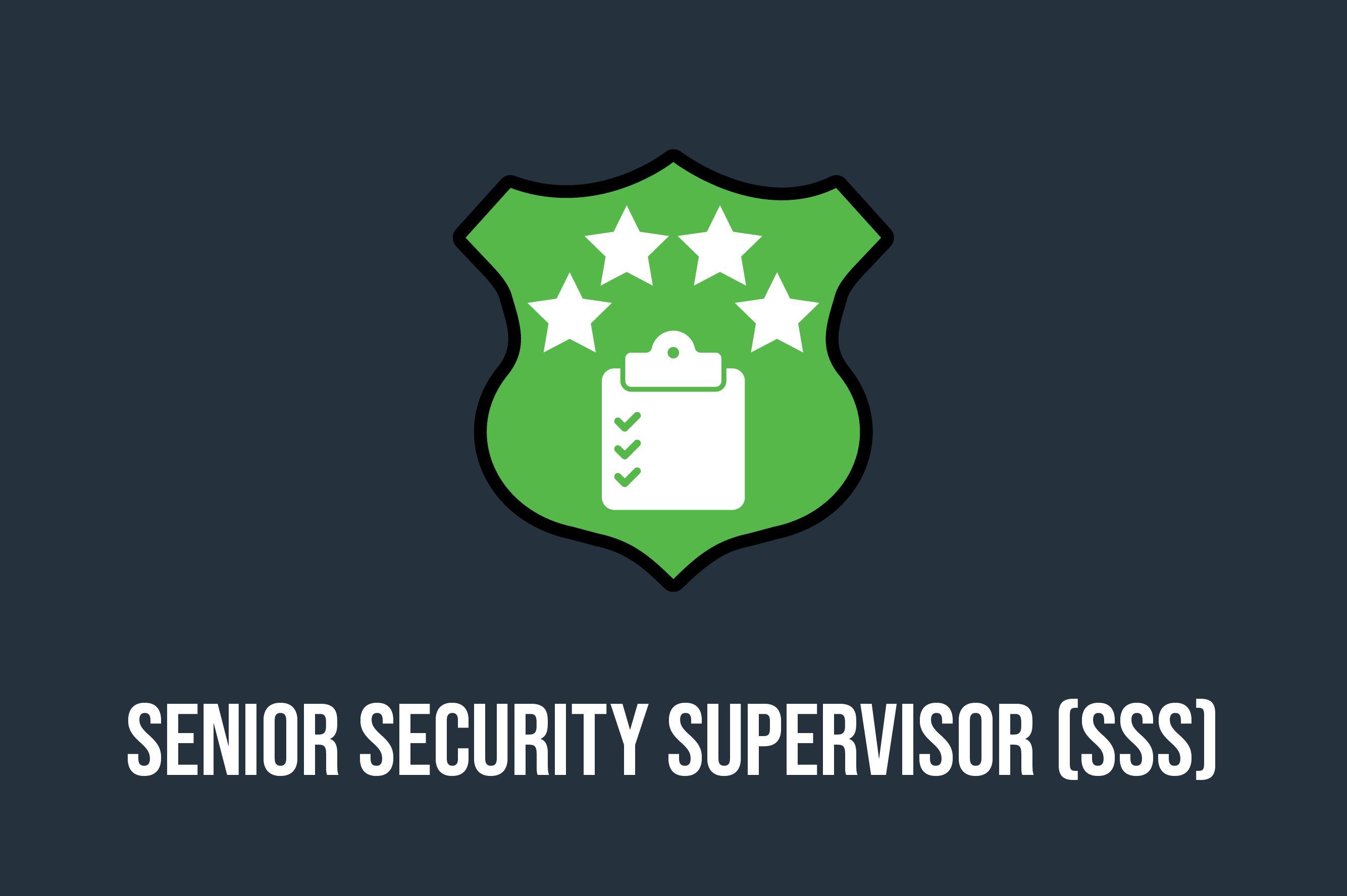 Senior Security Supervisor Course