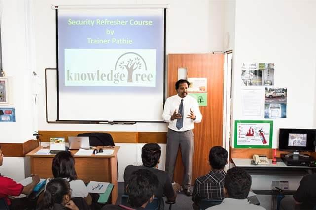 trainer teaching handle counter terrorism activities course