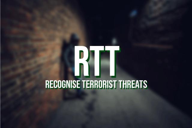 RTT - Recognise Terrorist Threats