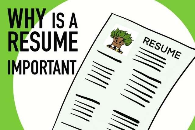 cartoon resume for security guard